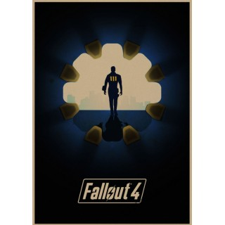 Постер Fallout A3 07