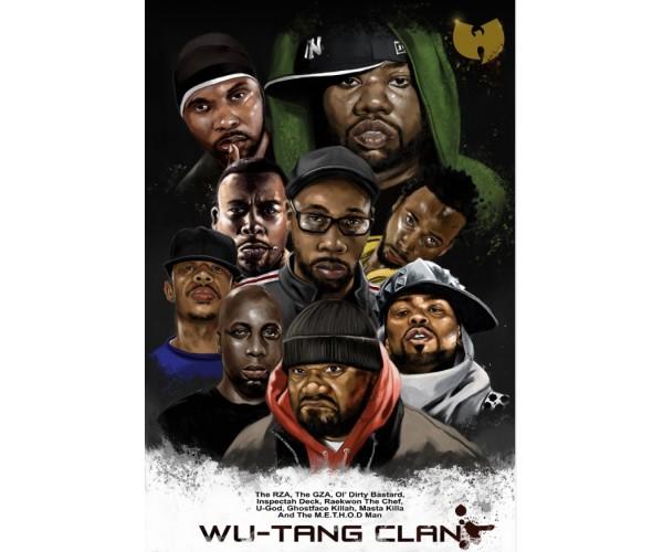 Постер Wu-Tang Clan A3 03