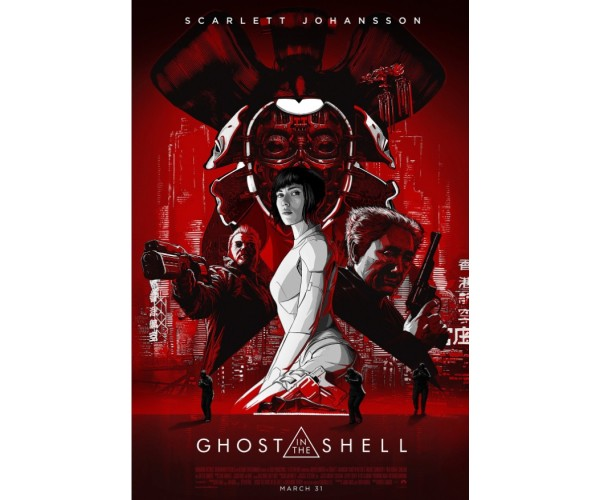 Постер Привид у броні Ghost in the Shell A3 02