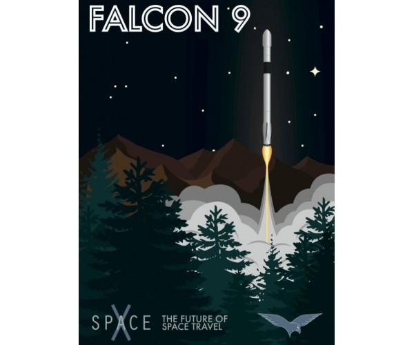 Постер Falcon 9