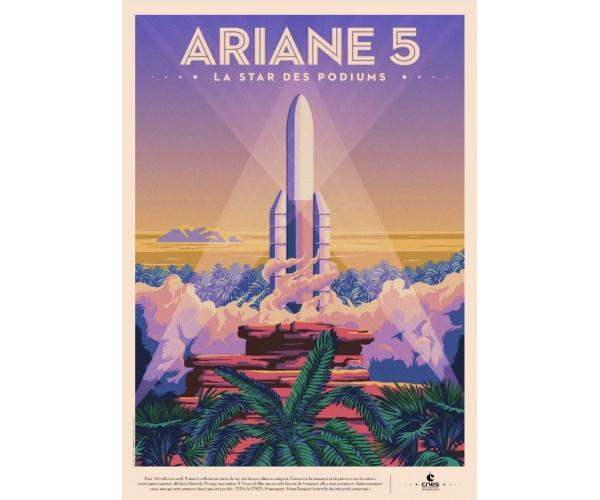 Постер ARIANE 5