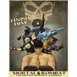 Постер Mortal Kombat A3 04