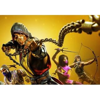 Постер Mortal Kombat A3 06