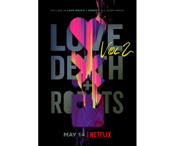 Постер Love, Death & Robots 2 A3
