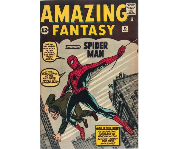 Постер Amazing Fantasy #15