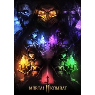 Постер Mortal Kombat A3 01