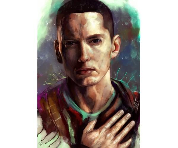 Постер Eminem 02