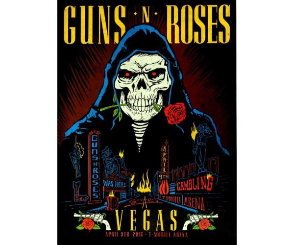 Постер Guns N' Roses