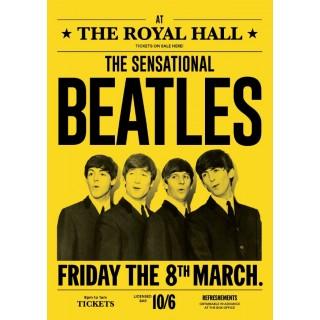 Постер The Beatles 04