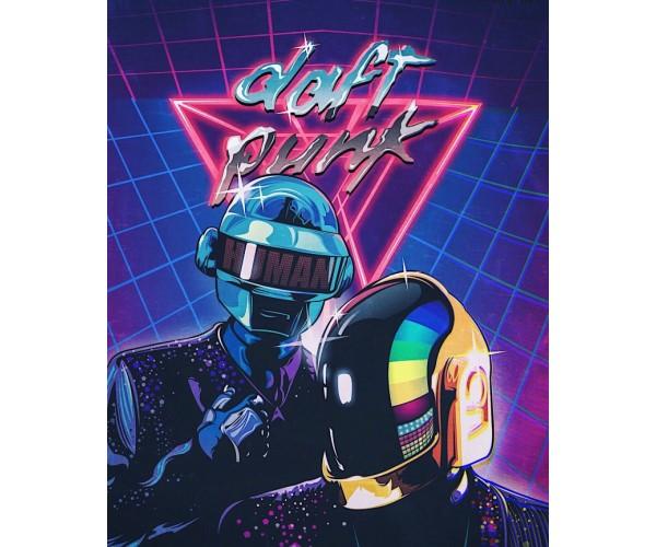Постер Daft Punk 02