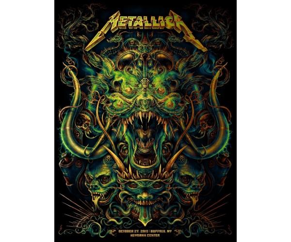 Постер Metallica 01