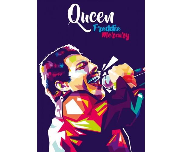 Постер Queen Freddie Mercury