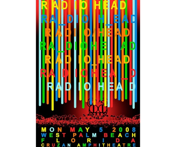 Постер Radiohead 01