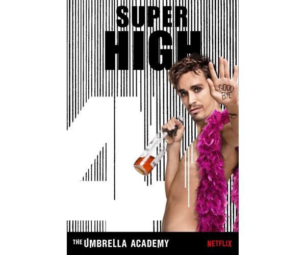 Постер Академія Амбрелла Umbrella Academy А3 17