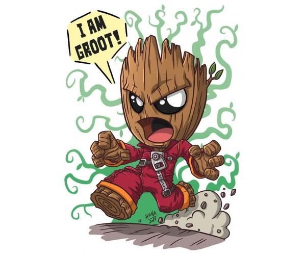 Стікер Ґрут Groot