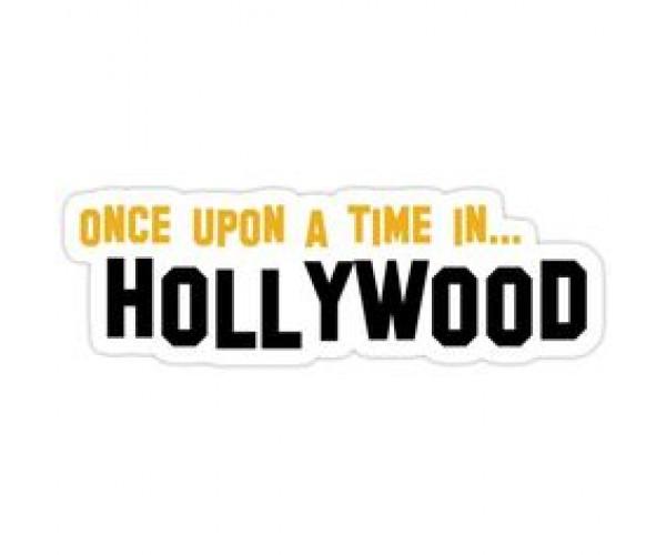 Стікер Одного разу в Голлівуді
