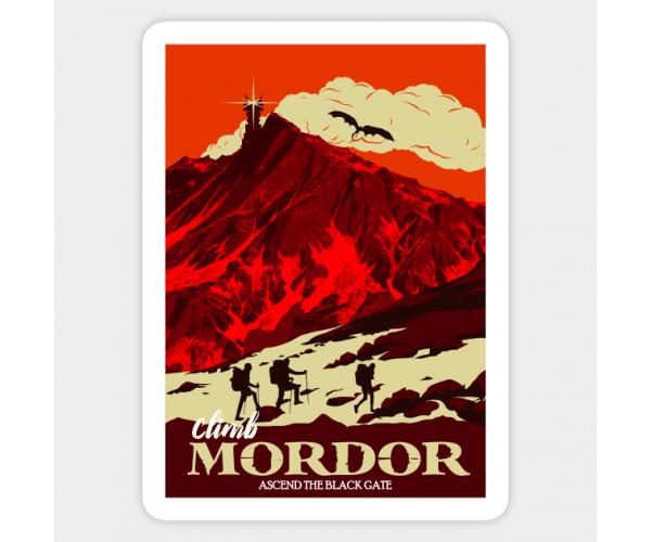 Стікер Володар перснів Мордор