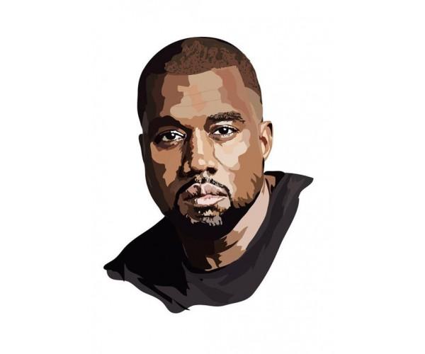 Стікер Kanye West