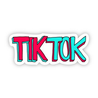 Стікер TikTok ТікТок 04