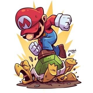 Стікер Super Mario Bros Супербрати Маріо