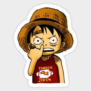 Стікер Ван Піс One Piece 01