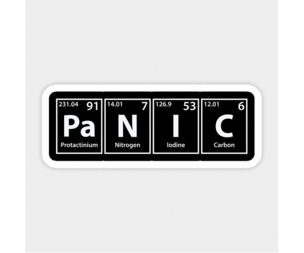 Стікер Panic
