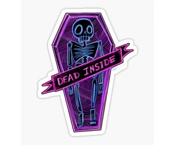 Стікер Dead inside