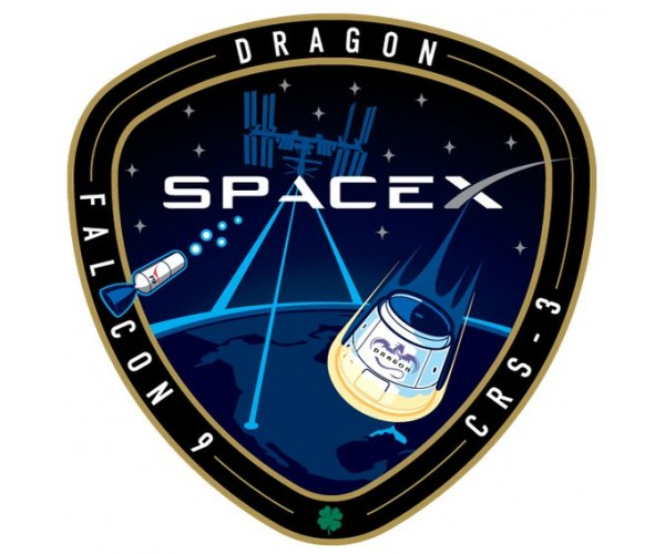 Стікер SpaceX 03
