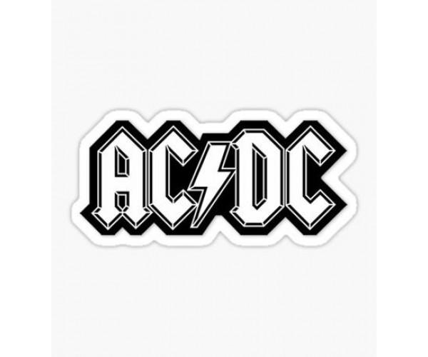 Стікер AC/DC