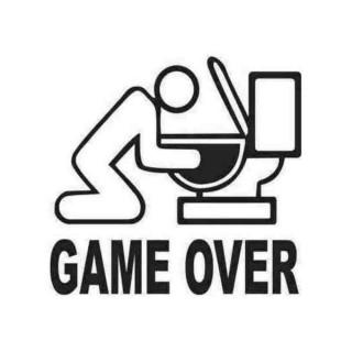 Стікер Game Ower