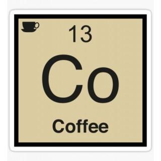 Стікер елемент Кава
