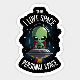 Стікер Personal Space