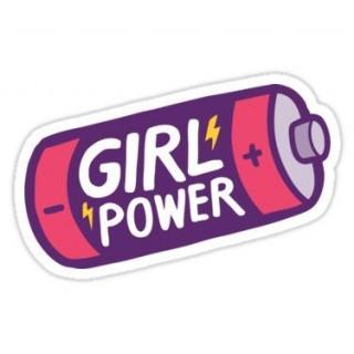 Стікер Girl Power