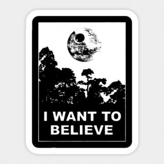 Стікер I Want to Believe 03