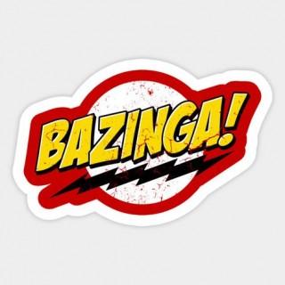 Стікер Bazinga