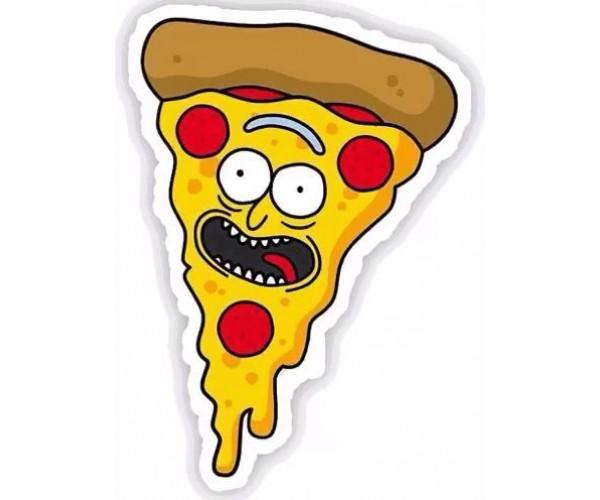 Стікер Піца Рік