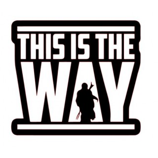 Стікер This Is The Way