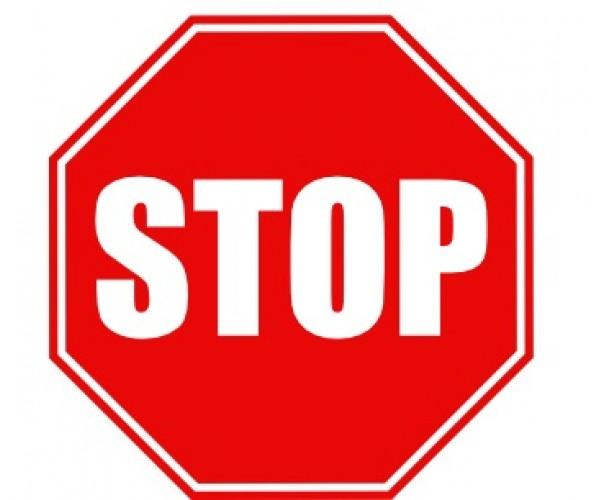 Стікер STOP
