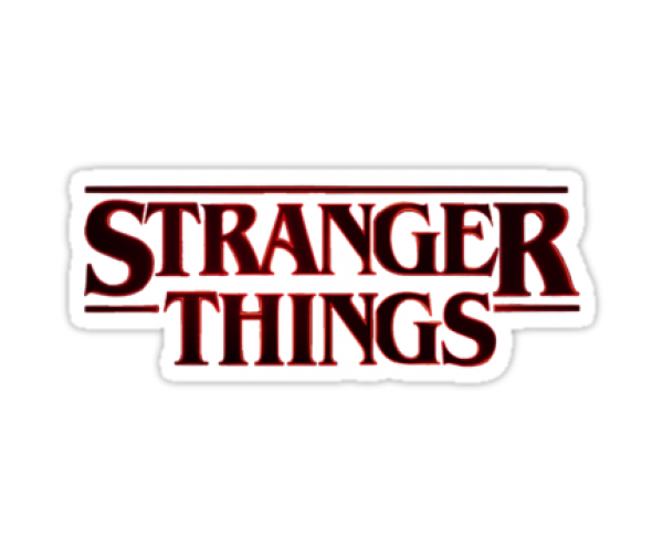 Стікер Stranger Things