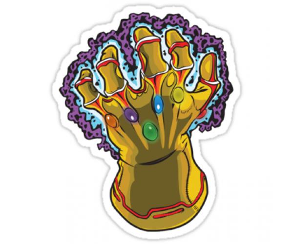 Стікер Infinity War 04