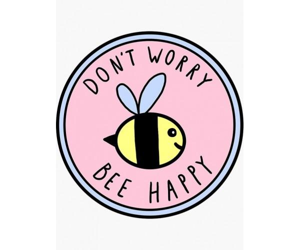 Стікер Bee Happy