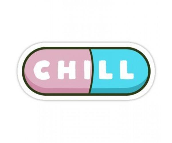 Стікер Chill Pill