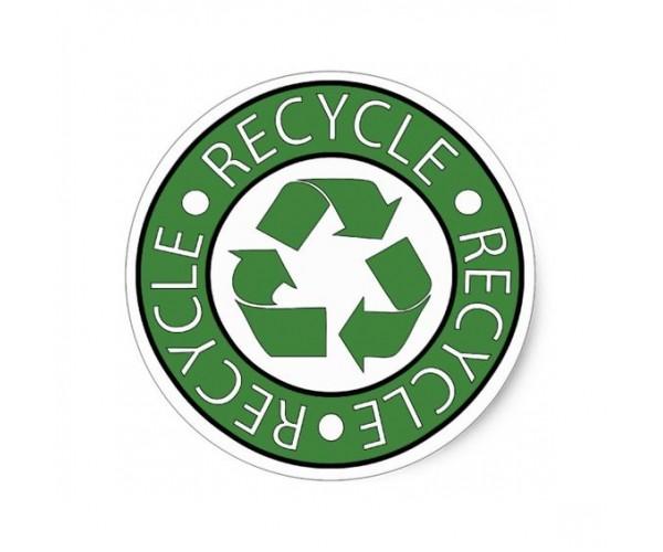 Стікер Recycle