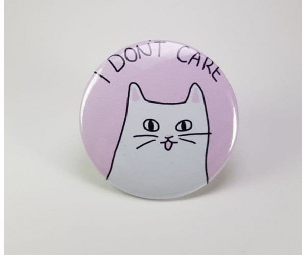 Значок I Don't Care