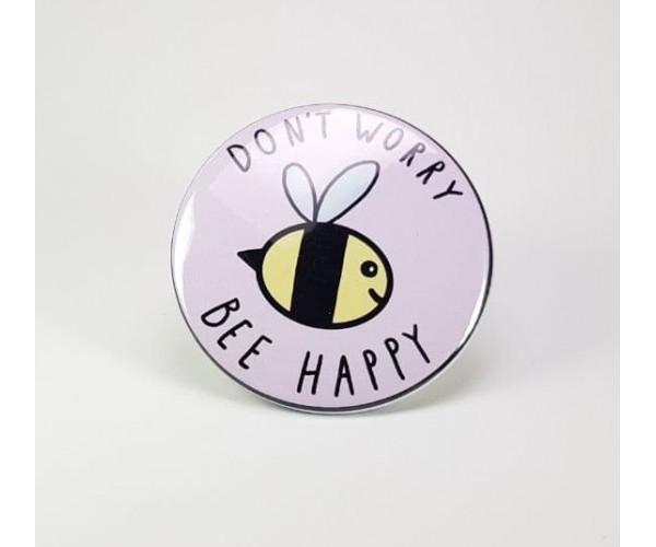 Значок Bee Happy