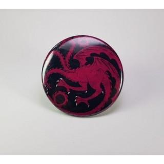 Магніт герб Таргарієнів
