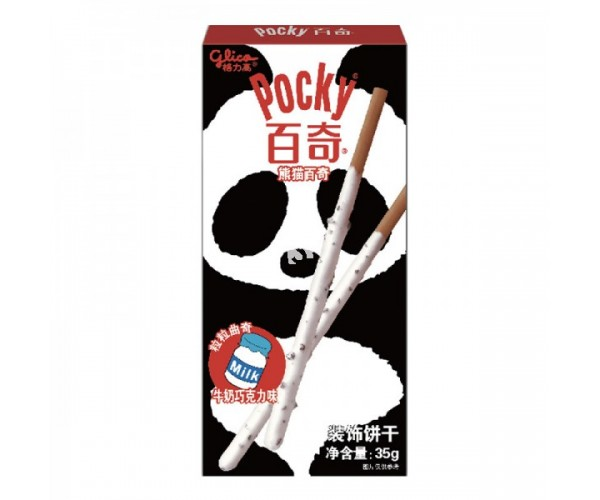 Pocky Coated with Milk and Chocolate Cream 35g