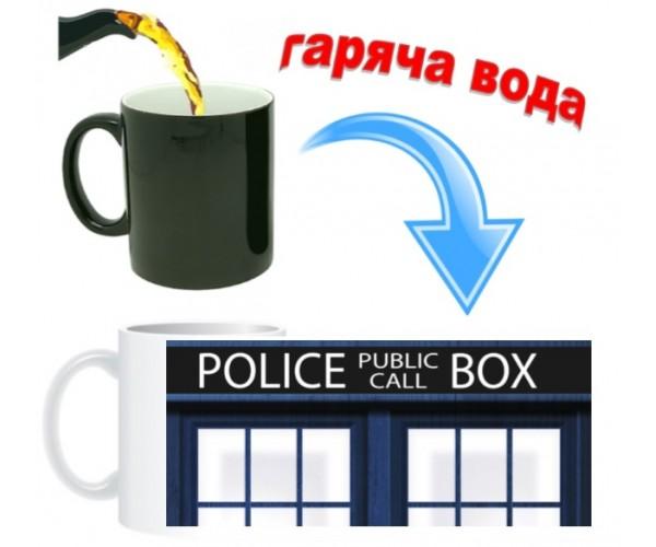 Чашка Тардіс