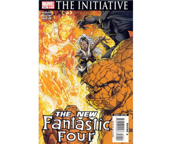 The initiative the new fantastic four