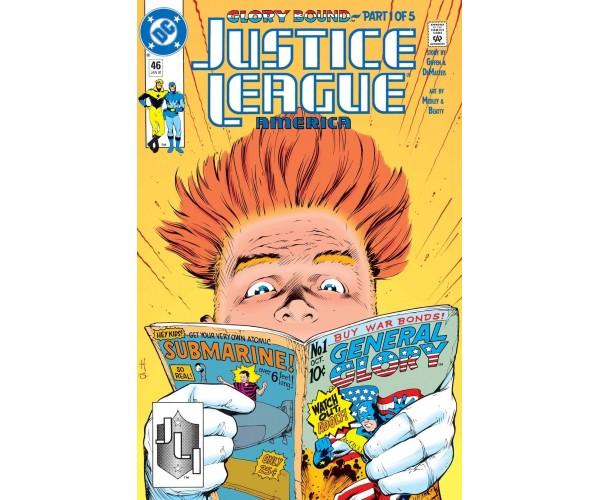 Justice League America  #46